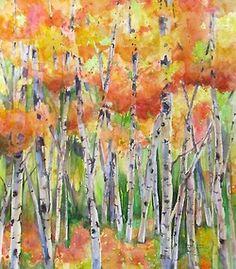 Janice Trane Jones ~ Brilliant Hues of Autumn