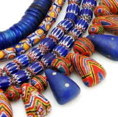 African cheviot beads!