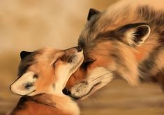 [+speedpaint] by Martith on DeviantArt Pretty Animals, Cute Funny Animals, Cute Baby Animals, Animals Beautiful, Animals And Pets, Cute Creatures, Beautiful Creatures, Cute Fox, Cute Animal Pictures