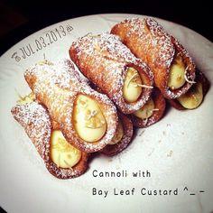 イタリアの伝統菓子「カンノーロ」が美味し