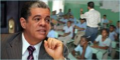 Ministro Educación Carlos Amarante Baret anuncia aumento 10% salarios de los maestros y personal apoyo administrativo