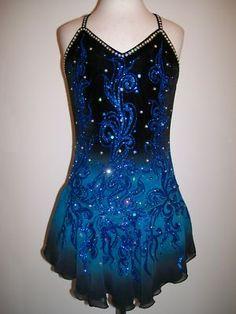 CUSTOM MADE TO FIT ICE SKATING BATON TWIRLING DRESS on eBay!