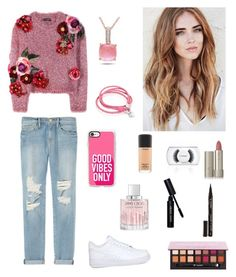 """""""🚺"""" by rochiilucena8 ❤ liked on Polyvore featuring Dolce&Gabbana, Frame Denim, NIKE, Casetify, Oxford Ivy, Miadora, Smith & Cult, Jimmy Choo, Ilia and Anastasia Beverly Hills"""