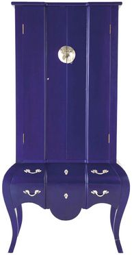 Kare blue cabinet.  Love this as a wardrobe!