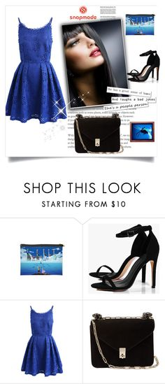 """""""Snapmade 6/10"""" by sanela1209 ❤ liked on Polyvore featuring Boohoo, Chicwish and Valentino"""
