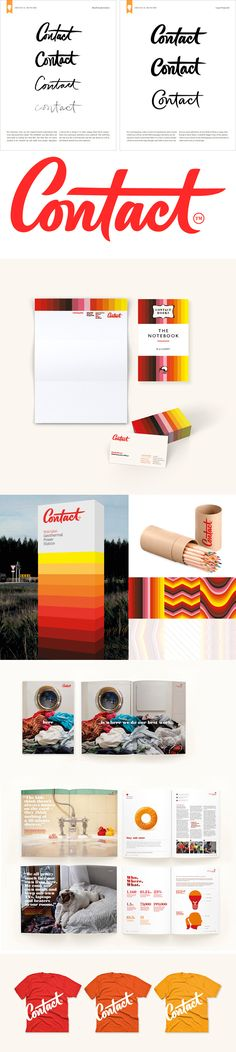 identity / Contact - energy #logo #identity #design