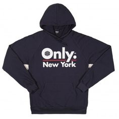 ONLY NY - Global Logo Hoodie Navy