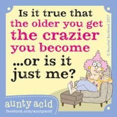 Aunty Acid for 7/22/2017
