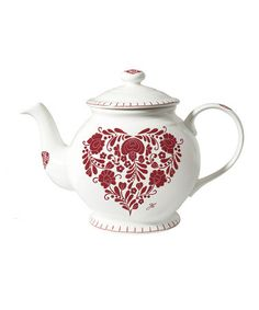 Take a look at this Romany Heart 1L Teapot by Jan Constantine by ECP on #zulily today!