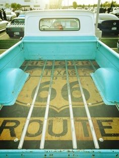 This truck bed is just perfection