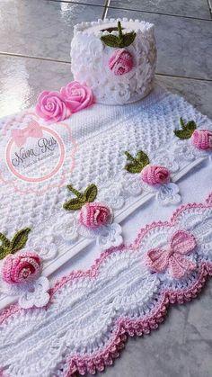 Step by Step Crochet Beak: 45 Models + Graphics and Videos - - Crochet Blanket Border, Crochet Lace Edging, Crochet Borders, Crochet Flower Patterns, Crochet Blanket Patterns, Irish Crochet, Crochet Doilies, Crochet Flowers, Crochet Stitches