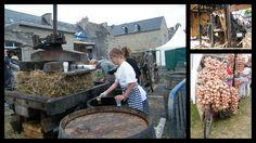 Fête de l'oignon à Roscoff (Bretagne)