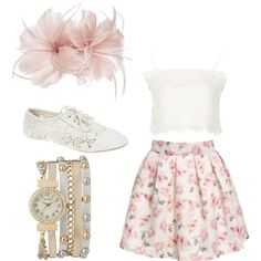 Floral by gracerankcom on Polyvore featuring polyvore fashion style Topshop Wet Seal maurices Untold