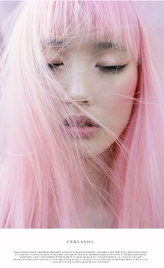 Meet Fernanda Ly, the Pink-Haired Model Poised to Dominate 2015