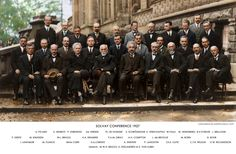 Solvay_conference_1927How amazing is this?? Original black and white image from the Solvay Conference, 1927. High res version here: http://www.mediafire.com/view/?wmlw2zyqzy05qei#