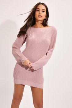 af20df0a59d Cashmere knitted jumper dress