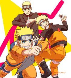 Naruto Uzumaki Ages