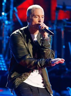 Pin for Later: 22 Handsome Hip-Hop Stars That Will Make Your Heart Skip a Beat Eminem