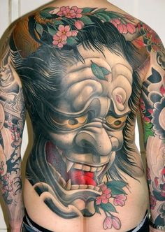 Amazing Back Piece #InkedMagazine #tattoo #tattoos #Inked #art #backpiece