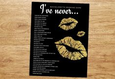 Bachelorette Party Game Drinking Game Bachelorette by P27Creative