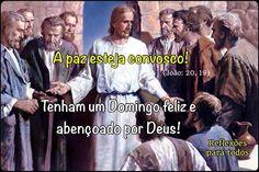 """Acesse: """"Bom dia! A Paz do Senhor esteja convosco!"""" (texto completo da Bíblia, com outra imagem)  #Jesus #Paz #Versiculo"""