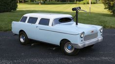 1955 Chevy  Nomad Tandem Scooter