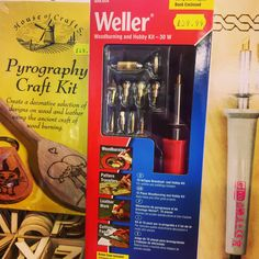 Have you ever tried Pyrography - the art of woodburning. We have a variety of tools and kits to get you started #pyrography #woodburning #pyrographyart