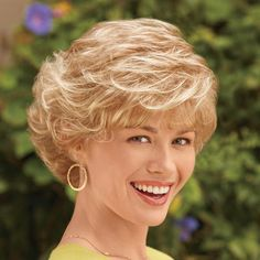 color me beautiful wig, like Short Curly Haircuts, Curly Hair Cuts, Short Hairstyles For Women, Wavy Hair, Short Hair Cuts, Curly Hair Styles, Curly Bob Hairstyles, Pretty Hairstyles, Easy Hairstyles