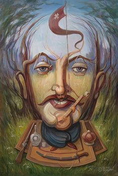 O mestre do surrealismo Oleg Shuplyak Optical Illusion Paintings, Optical Illusions Pictures, Illusion Pictures, Art Optical, Illusion Kunst, Street Art, Hidden Images, Ukrainian Art, Magic Art