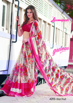 Choose this Perfect Multicolor Georgette Saree along with Pink Color Blouse Fancy Lace Border from Laxmipati at an upcoming special occasion and let all eyes follow you. Limited stock! 100% Genuine products! #Catalogue #GULNAR Price - Rs. 1685.00 Visit for more designs@ www.laxmipati.com #GaneshChaturthi #Ganesh #monsoon #Shopping #Shoppingday #ShoppingOnline #fashionstyle #ReadyToWear #OccasionWear #Ethnicwear #FestivalSarees #Fashion#Fashionista #Couture #LaxmipatiSaree…