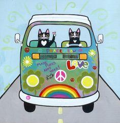 hippie kitties