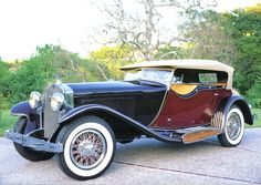 1932 Isotta Fraschini Tipo 8A Dual Cowl Phaeton Body By Castagna Of Milan Maroon Black