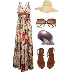 A fashion look from April 2012 featuring Firetrap dresses, H&M sandals and H&M hats. Browse and shop related looks.