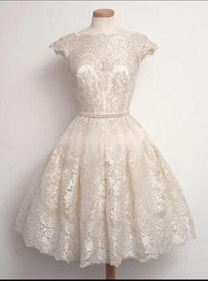 Short fashion new goods / mini lace dress Homecoming, O-neck evening dress, Homecoming dresses, fashion prom dresses, prom dresses custom lace