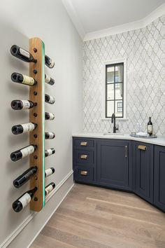 Pike Properties designed this beautiful modern English country home nestled on an expansive suburban property in Charlotte, North Carolina. Grey Cabinets, Custom Cabinets, Restoration Hardware Vanity, Oak Wine Rack, Country House Design, Modern English, Property Design, New England Homes, Visual Comfort