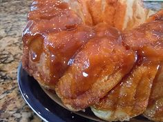 Sticky buns from refrigerated biscuits!