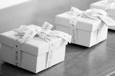 Favour boxes made with love