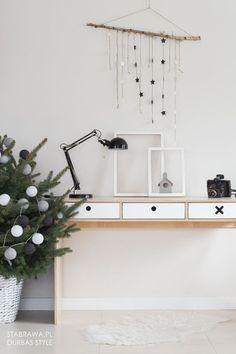Biurko Kółko i krzyżyk białe | Opa&Company