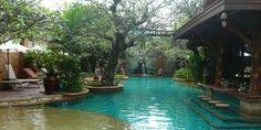Poolside at Sawasdee Village, Phuket, Thailand