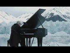 Pianist Ludovico Einaudi performs on the Arctic Ocean - YouTube