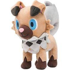 Pokemon Center Original Plush Rockruff (iwanko) Doll Sun Moon Japan