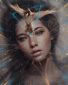 Spider Fawn Library c___l___o Digital Art Girl, Digital Portrait, Portrait Art, Dark Fantasy Art, Fantasy Girl, Art Sketches, Art Drawings, Drawing Art, Arte Horror