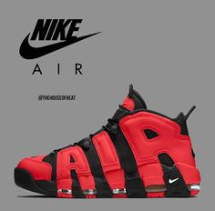 Who would cop these Uptempo's? Mens Boots Fashion, Sneakers Fashion, Shoes Sneakers, Sneakers Style, Men Fashion, Shoes Boots Timberland, Shoe Boots, Custom Sneakers, Custom Shoes