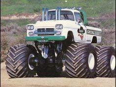 This is the Skoal Bandits monster truck from the Hot Rod Trucks, Custom Trucks, Semi Trucks, Lifted Trucks, Cool Trucks, Chevy Trucks, Pickup Trucks, Redneck Trucks, Muddy Trucks
