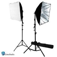 Ivationstudio Photography Continuous 24 X 24 Photo Studio Video Lighting Kit