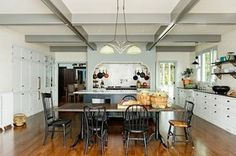 You don't have to spend a fortune to make your kitchen look stylish and new.  By swapping hardware, changing to an up-to-the-moment shade of paint or using new ways to display linens or dishes, you can create a great new look for less.