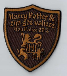 Is your camp theme 'Harry Potter'? This patch is so fairylike! Every youth movement should have a patch like this as a camp memory. You can simply sew or iron it on your uniform. Upload your own design on ibadge.com!