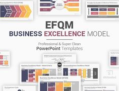 Business Excellence Model EFQM PowerPoint Templates Diagrams Ppt Template, Powerpoint Presentation Templates, Operational Excellence, Business Performance, Diagram, How To Plan, Model, Scale Model