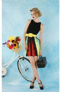Aidin Back Zip Dress [Alice and Olivia] by Stacey Bendet