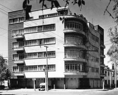 Apartment Building by Vladimir Kaspe  Mexico City1949